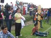 Fundación Tiempo de Juego inaugura camerinos y tribunas en la cancha de fútbol de San Mateo