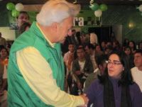 Cara a cara con la comunidad, Everth Bustamante cerró su campaña en Soacha