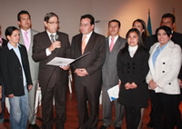 Director de Icontec  entregó certificado de gestión  de calidad a la Alcaldía de Madrid