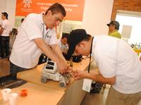 En Tecnobot 2011  ganaron la creatividad, la innovación y  los competidores