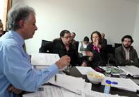 Gobernador se reune con alcalde electo de Bogotá, Gustavo Petro
