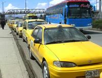 A los taxistas de Soacha les están haciendo 'conejo'