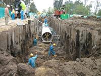 Lista financiación para saneamiento básico en Soacha