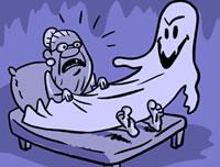 Abuela es acosada sexualmente por un fantasma