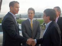 Presidente del BID visitó Ciudad Verde