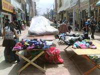 Tensión en el centro de Soacha por día cero para vendedores ambulantes