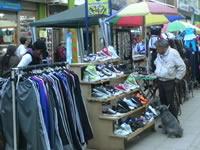 Con una 'tensa calma' transcurrió la jornada de ayer para los vendedores de la Calle 13