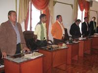 Por un día se prorroga tercer periodo de sesiones ordinarias en el Concejo Municipal