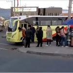 Sibateños manifiestan  inconformidad frente al alza de pasajes anunciada