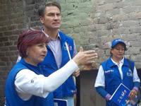 Juan Carlos Nemocón,  viceministros y directores de entidades públicas fueron cogestores sociales en Soacha