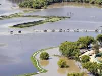 Inundaciones controladas en Soacha  para disminuir nivel del río Bogotá