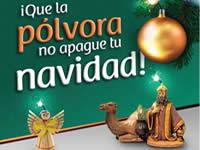 Caprecom lanza campaña: 'Que la pólvora no apague tu navidad'