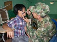 Niños y adultos se beneficiaron de Jornada Cívico-Militar en Ciudadela Sucre