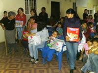 A la comunidad de Cazucá le adelantaron la navidad