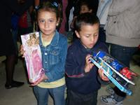 La navidad se adelantó para los niños de los sectores vulnerables de Soacha