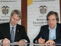 Mineducación y Consejo Noruego para los Refugiados firmaron acuerdo de entendimiento para los próximos tres años