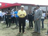 Tres nuevos polideportivos fueron entregados a la comunidad de Soacha