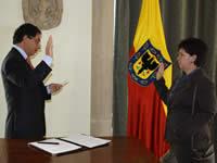 Margarita Flórez Alonso, se posesionó como Secretaria de Ambiente de Bogotá