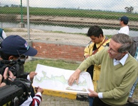 """""""Vamos a trabajar duro para evitar nuevas inundaciones en Bogotá"""""""