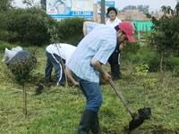 Mañana, jornada de reforestación y limpieza en el humedal Tierra Blanca