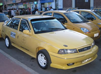 Vuelve y juega: a los taxistas de Soacha se les impide la movilización en Bogotá