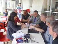Vocero de MIRA se reúne con trabajadores de  Estados Unidos