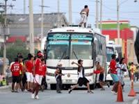 Barras bravas del fútbol tienen  sitiado al municipio de Soacha
