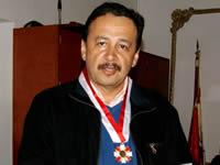 Víctor 'Perico' Sánchez y Arthur Bernal recibieron condecoración del Dios varón