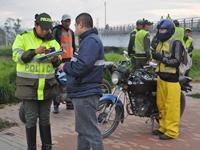 Autoridades locales realizaron operativo en cicloruta