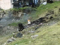 Fueron acabadas las quemas de basura en el barrio La Veredita