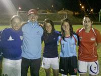 Las Superpoderosas de Soacha están en el fútbol femenino de Cundinamarca