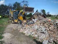 Desde abril, constructoras deberán reutilizar los escombros de sus obras