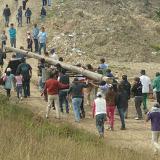 El Viacrucis más concurrido de Soacha se rezó en el Cerro de las Tres Cruces