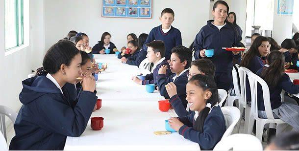 Conozca el cronograma y horarios de entrega de refrigerios en las instituciones educativas de Soacha