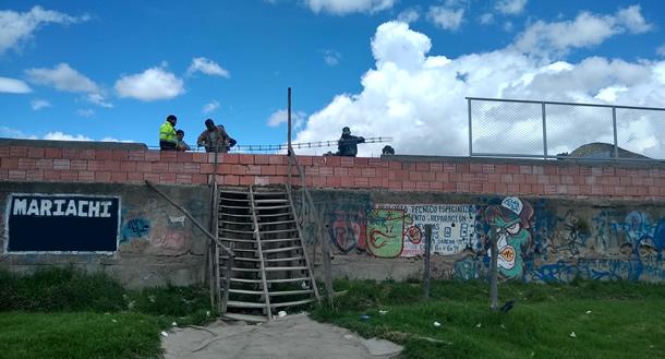 Villas de la Esperanza también se unió a la campaña de embellecimiento de los barrios de Soacha