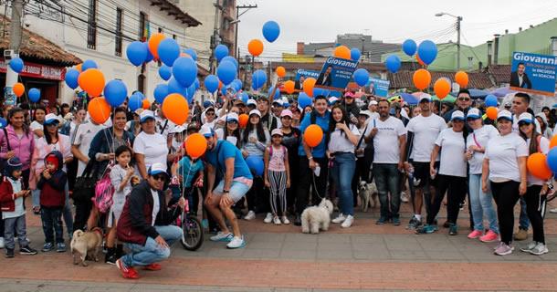 La comunidad y los estudiantes se unen por el aseo y el embellecimiento de Soacha