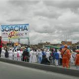 Histórico desfile de comparsas en los cumpleaños de Soacha