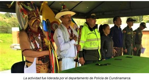 Corporación Autónoma Regional de Cundinamarca entrega obras de mitigación