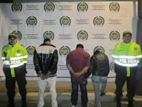 54 capturas realizó  la Policía en la última semana