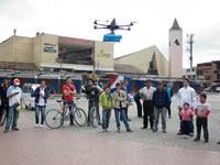 Alcaldía de Soacha  busca implementar seguridad aérea  en la ciudad