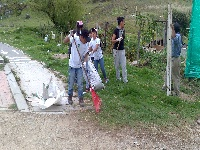 Sibaté realizó jornada de limpieza a la quebrada La Chacua