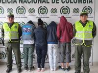 Policía desarticula banda de atracadores en Compartir