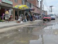 Alerta en  Nuevo Colón y Quintanares  por falta de mantenimiento de redes de alcantarillado y sumideros
