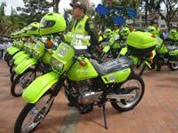 Soacha recibirá hoy más de 70 motos para fortalecer su seguridad