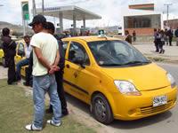 Empieza a aclararse el panorama para los taxistas de Soacha