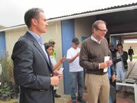 Embajador de Canadá en Colombia estuvo de visita en Altos de la Florida