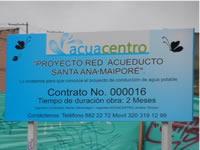 Acuacentro se manifiesta frente a situación de habitantes de Maiporé