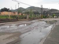 Emergencia sanitaria en el barrio Llano Grande