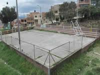 Habitantes de Julio Rincón esperan por el arreglo  de los polideportivos del barrio