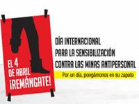 Hoy día Internacional para la Sensibilización contra las Minas Antipersonales